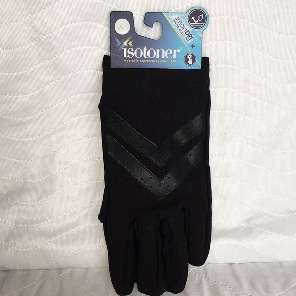 isotoner Other - NWT Mens Isotoner Chevron Gloves 🧤 Size XL